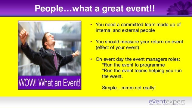 How To Plan The Perfect Event With Chris Powell The Event Expert