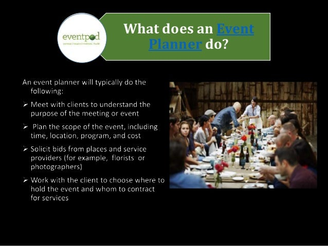 what does an event planner do