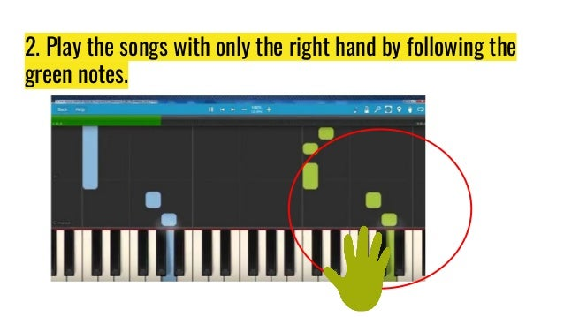 Piano With Synthesia
