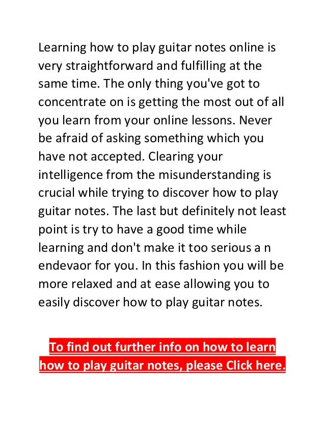 How to Learn and Memorize Guitar Solos Faster and Create ...