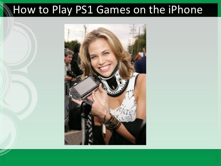 How to Play PS1 Games on the iPhone