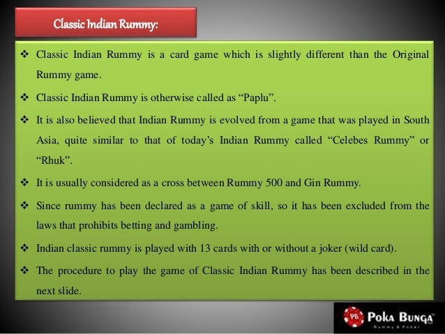 Learn Indian Rummy