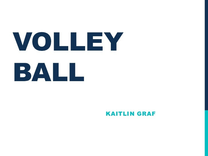 VOLLEYBALL     KAITLIN GRAF