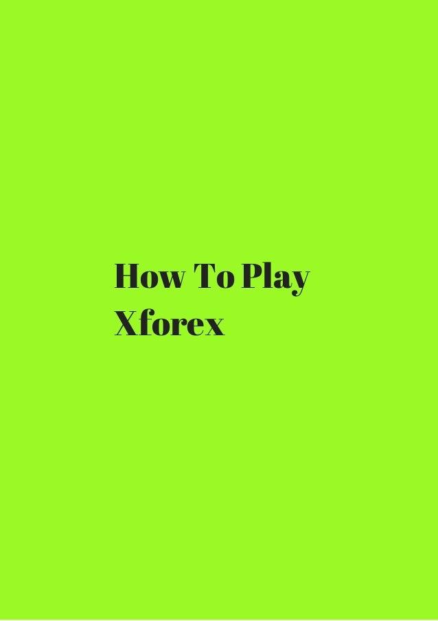 X forex