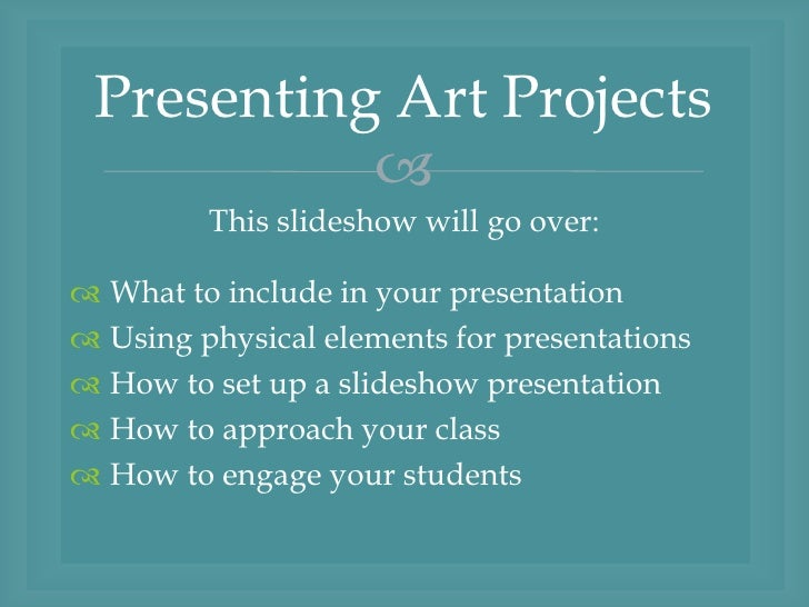 presentation projects