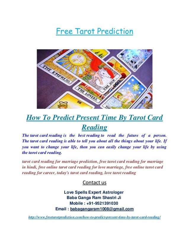 How to predict present time by tarot card reading,+91 9521391030