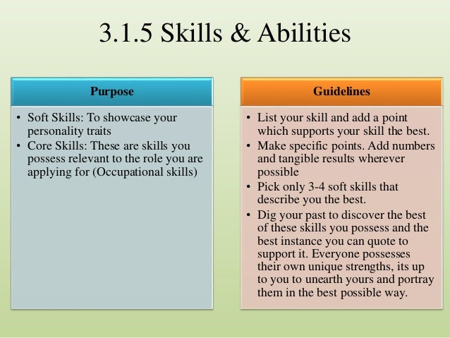 ... Possible; 18.  Traits To Put On A Resume