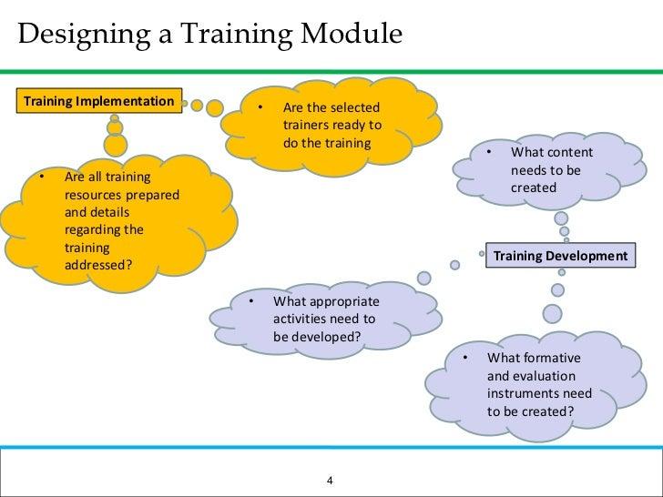 Communication training module