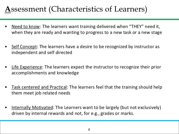 What are the learners job related needs?</li></ul>NEEDS ASSESSMENT:<br /><ul><li>What is the gap between what they know an...