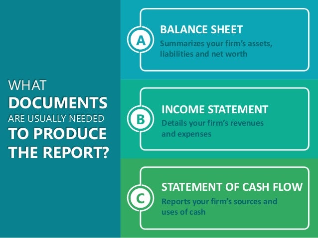 How to Prepare a Yearend Financial Report Slide 3