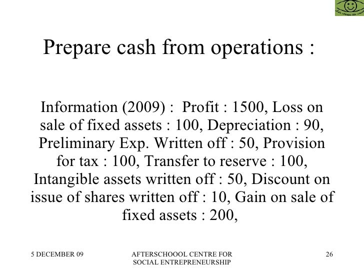 fin 200 cash flow preparation Review where this chapter fits looking ahead 492 chapter thirteen the cash flow statement and decisions previous chapters examined the information provided.