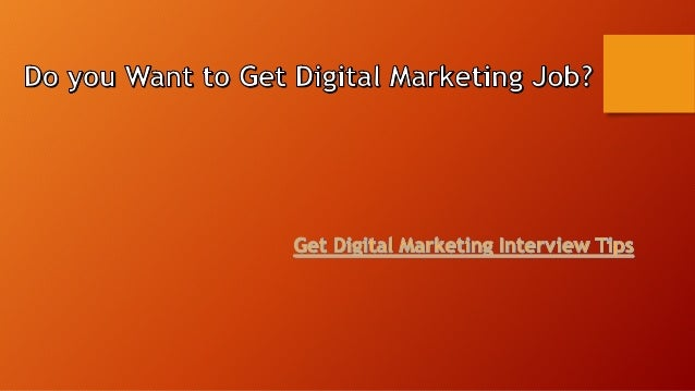 How to prepare Digital Marketing Interview Questions? • In a digital marketing interview session, many questions may ask. ...