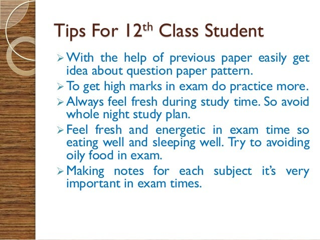 how to do well in exams There's evidence that students who sleep for seven hours a night do on average 10% better.