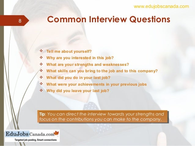 8 common interview - What To Bring To A Job Interview