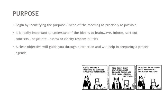 how to prepare prior to a meeting