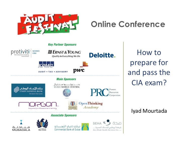 +    Online Conference               How	  to	               prepare	  for	              and	  pass	  the	               C...