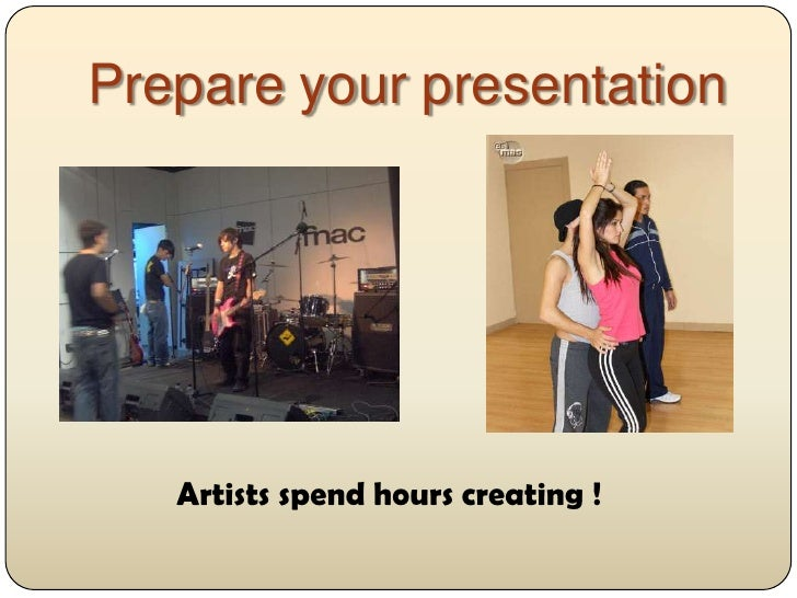 How to prepare for an oral presentation Slide 2