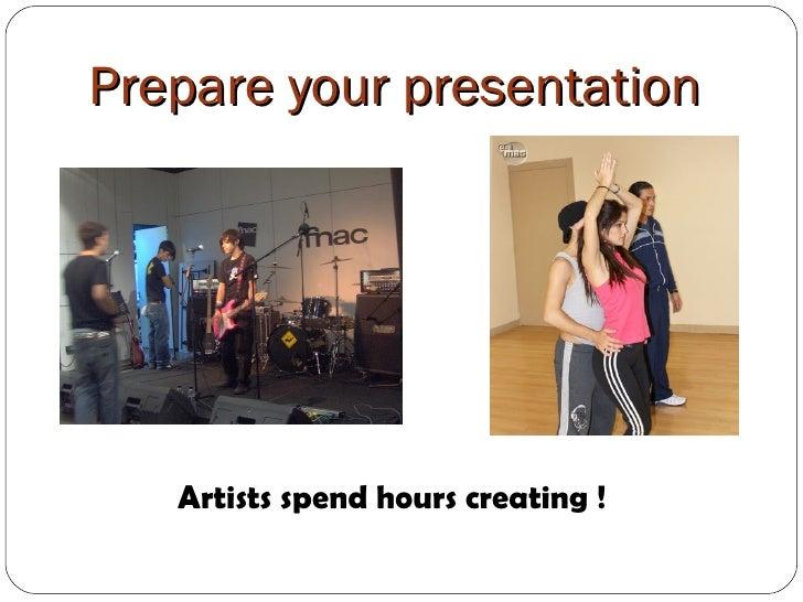 how to start an oral presentation speech