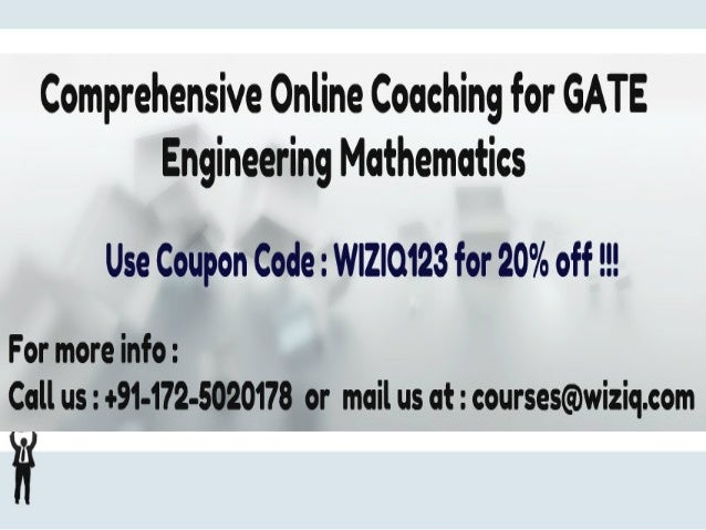 "How to prepare for CS GATE Engineering Mathematics Wondering how to prepare for ""Engineering Mathematics for GATE 2014"" ??..."