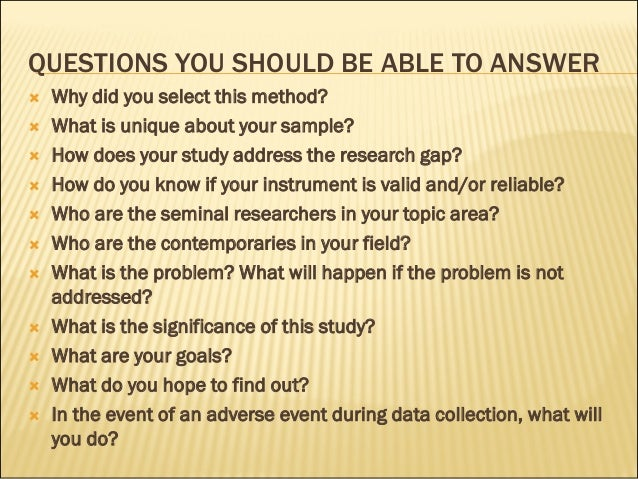 possible questions during thesis defense Bill gardner / tips for your thesis defence  if they sense you need help, they can ask some leading softball questions during their turns, and they always get .