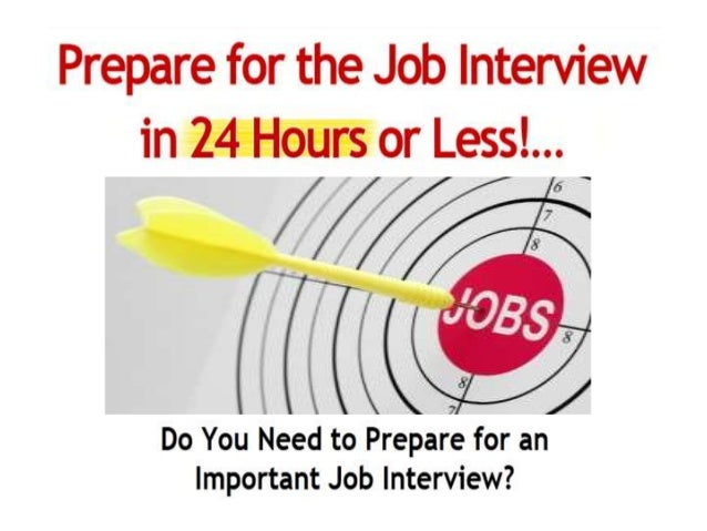 how to prepare for the second job interview