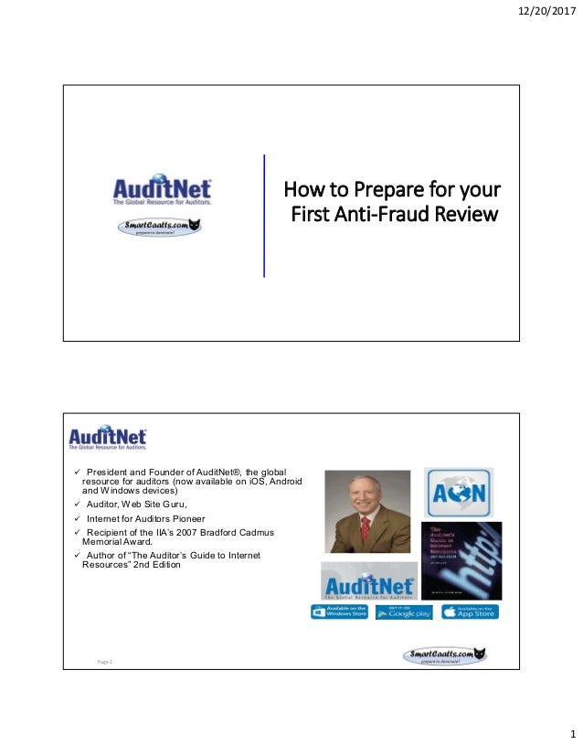how to prepare for your first anti fraud review rh slideshare net