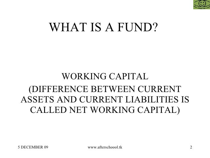 Difference between cash flow and fund flow