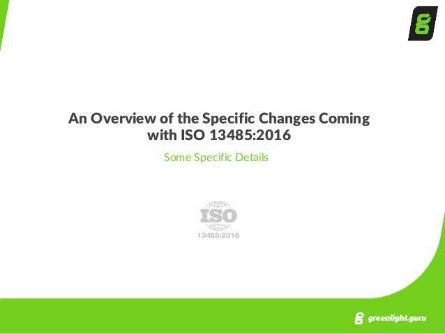 how to prepare your organization for the transition to iso