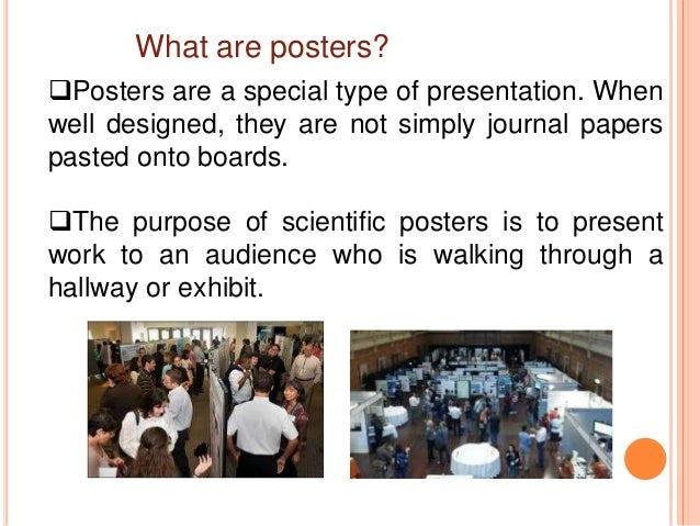 How to present a poster (1) Slide 3