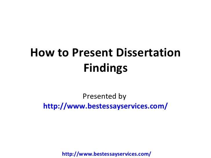 dissertation discussion example