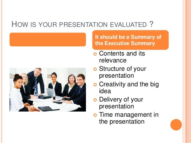 How to present your marketing plan