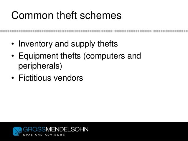 how to detect inventory fraud
