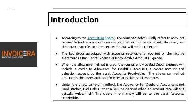 How to Prevent Bad Debts?