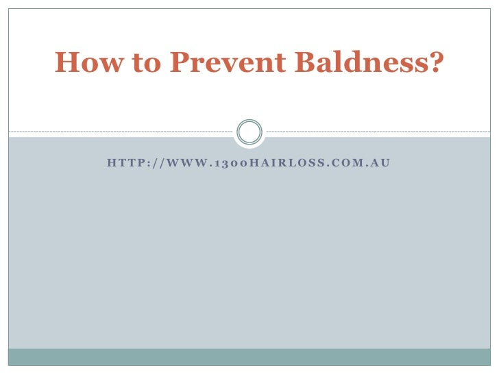 How To Prevent Hair Fall In Men Naturally