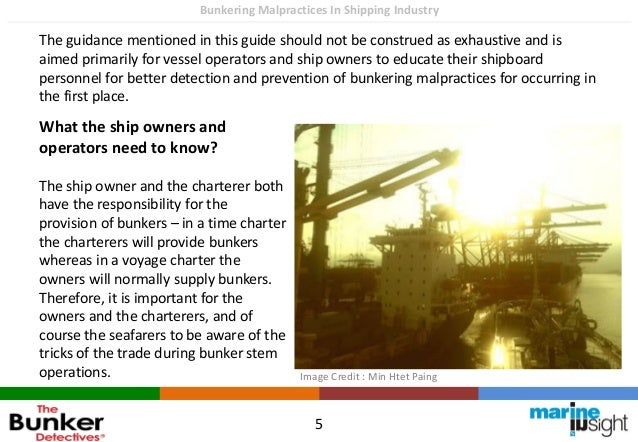 How to prevent bunkering malpractices on ships