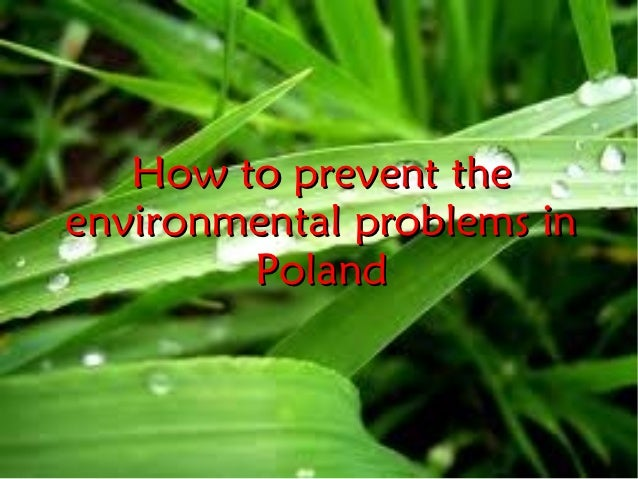 How to prevent theenvironmental problems in        Poland