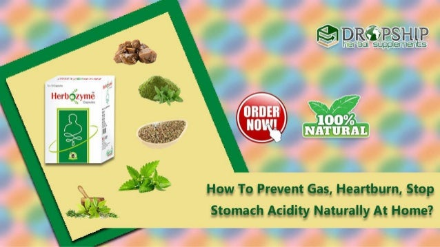 How to avoid gas naturally
