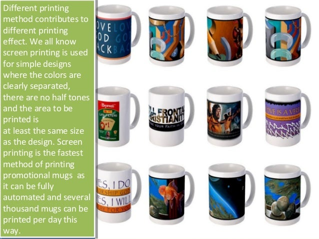 How To Print Your Promotional Sublimation Mugs