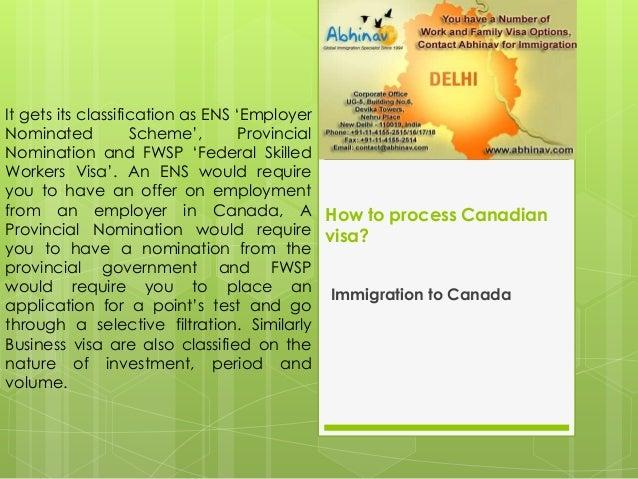 How to process canadian visa Slide 3