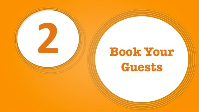 2 Book Your Guests