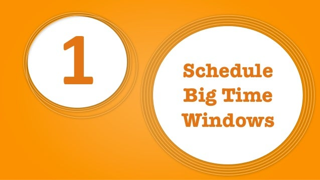 1 Schedule 