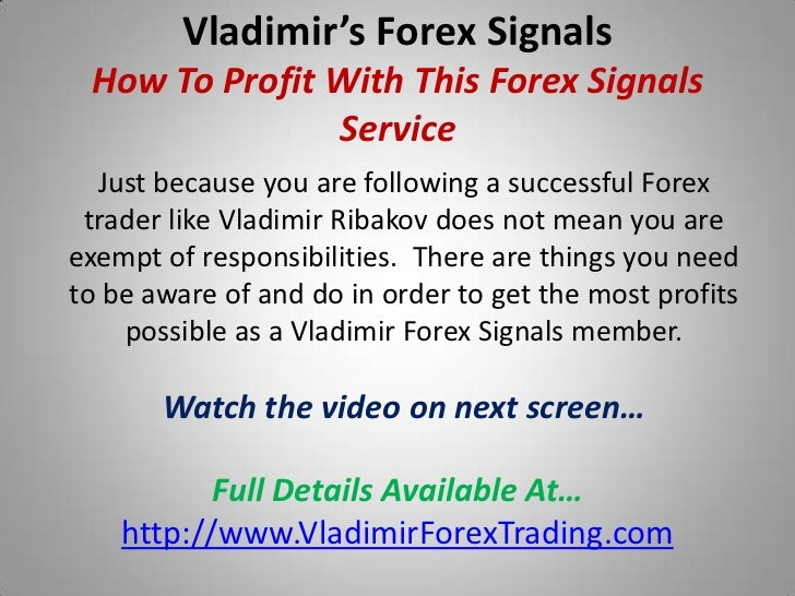 Profit forex signals performance