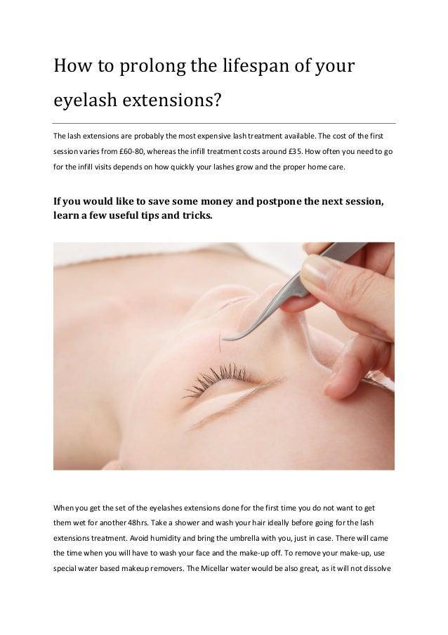 How to prolong the lifespan of your eyelash extensions? The lash extensions are probably the most expensive lash treatment...