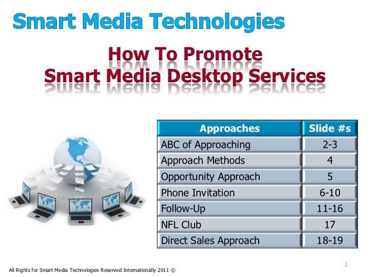 How To Promote              Smart Media Desktop Services                                                                  ...