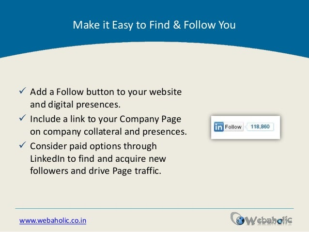 how to add linkedin button to my website