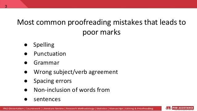 phd grammar punctuation