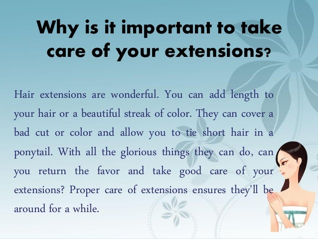 Best tips to properly take care of your hair extensions 2 pmusecretfo Images