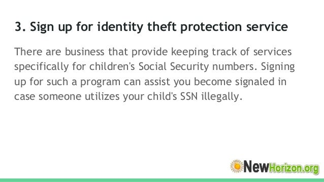 How to Protect Your Kids Social Security Number From Scams