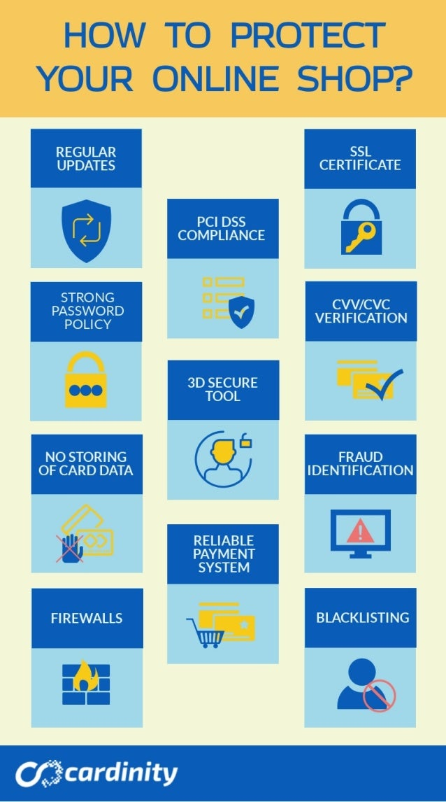 11 Crucial Steps to Protect Your E-Shop | Cardinity