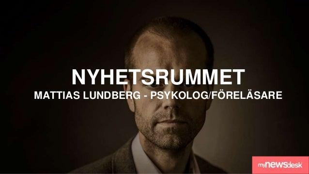 HOW2PR! 13/4/2016 Breakfast Seminar - Stockholm, Sweden